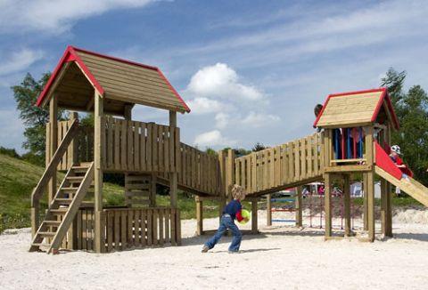 vakantiepark en bungalowpark kuierpadtien in Drenthe